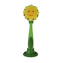 Scrub Daisy® 3-Piece Dish Wand Set with Sunflower Head