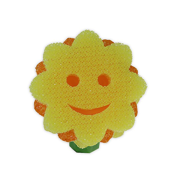 Alternate image 1 for Shark Tank Sunflower Replacement Head for Scrub Daisy® Dish Wand