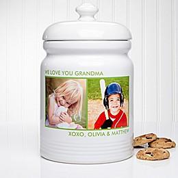 Picture Perfect Multicolor Cookie Jar