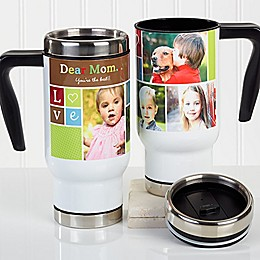 Photo Fun 14 oz. Commuter Travel Mug