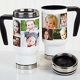 Create a Photo Collage 14 oz. Commuter Travel Mug