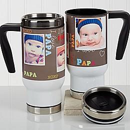 Loving You 14 oz. Photo Commuter Travel Mug