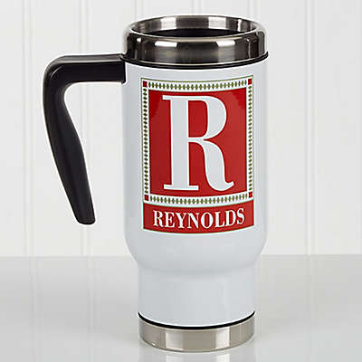 Letter Perfect 14 oz. Commuter Travel Mug
