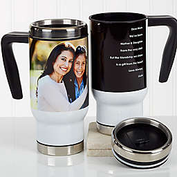 Photo Sentiments For Her 14 oz. Commuter Travel Mug