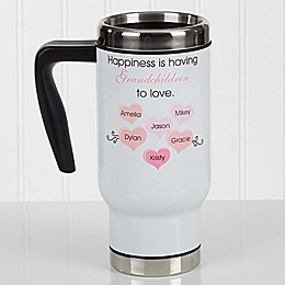 What is Happiness? 14 oz. Commuter Travel Mug