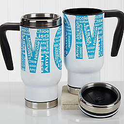 Repeating Name for Her 14 oz. Commuter Travel Mug