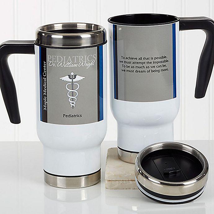 Alternate image 1 for Medical Professions 14 oz. Commuter Travel Mug