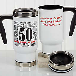 Another Year Has Gone By 14 oz. Commuter Travel Mug
