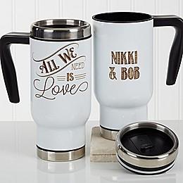 Love Quotes Romantic 14 oz. Commuter Travel Mug