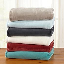 Great Bay Home Clara Ultra Plush Throw Blanket