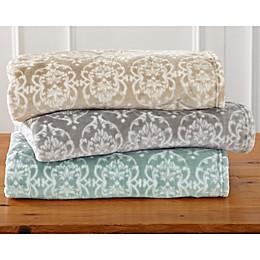 Great Bay Home Kingston Ultra Plush Throw Blanket