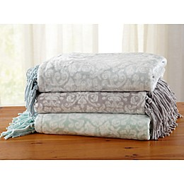 Great Bay Home Katrina Ultra Plush Throw Blanket