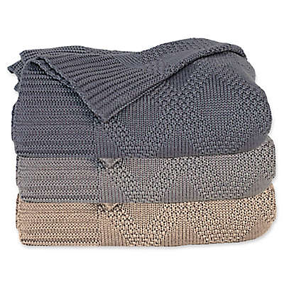 Cariloha® Viscose Made From Bamboo/Blend Knit Throw Blanket