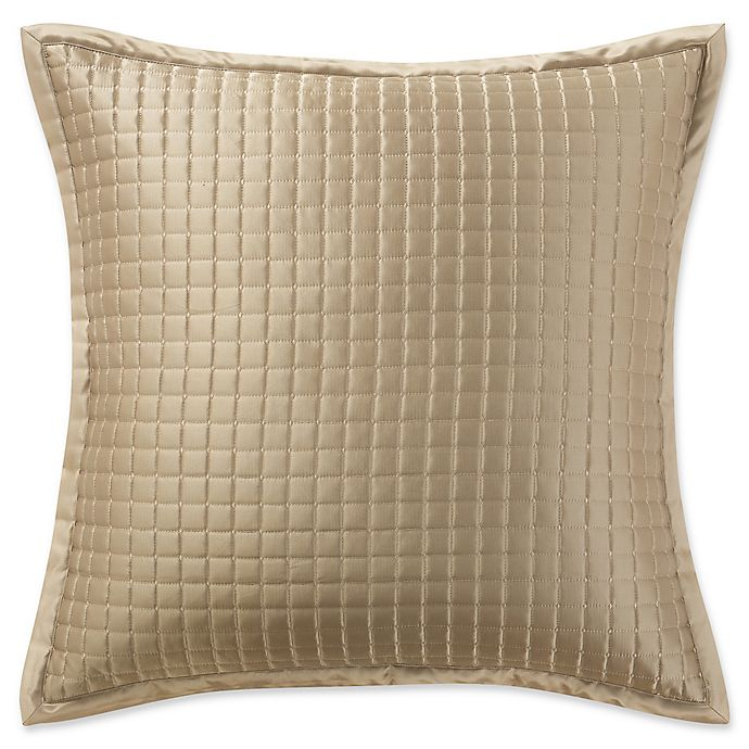 Alternate image 1 for Waterford® Crystal European Pillow Sham in Gold
