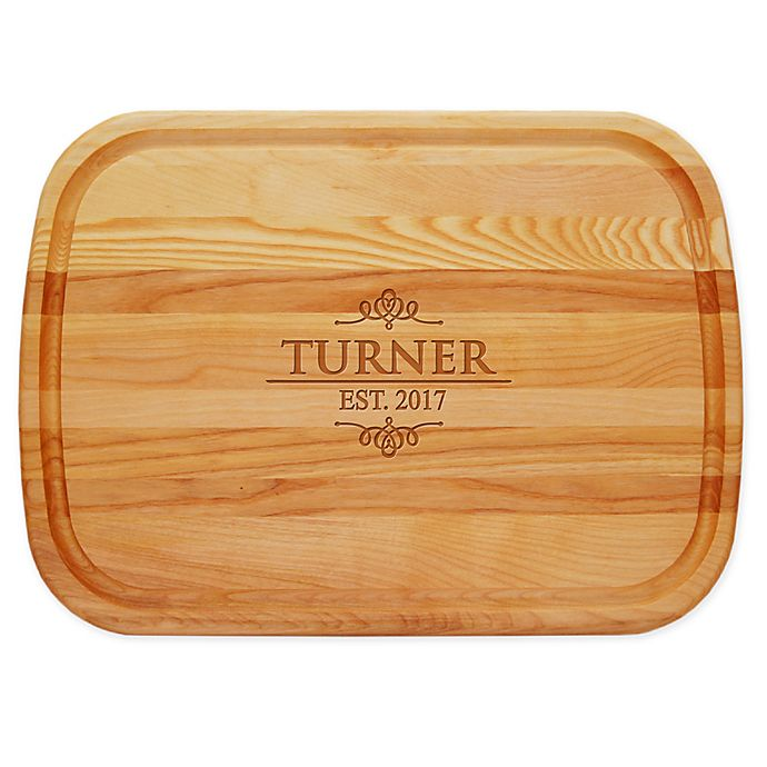 Alternate image 1 for Carved Solutions Turner 21-Inch x 15-Inch Everyday Board