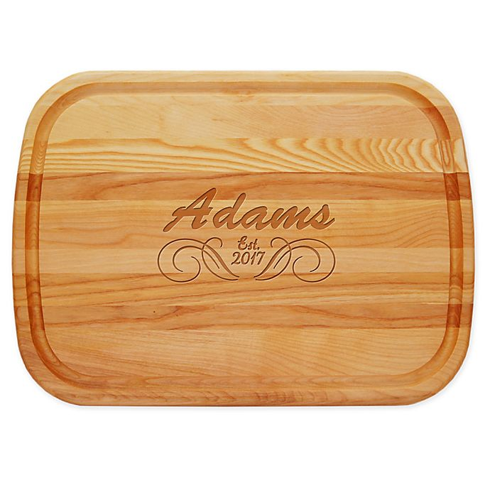 Alternate image 1 for Carved Solutions Adams 21-Inch x 15-Inch Everyday Board