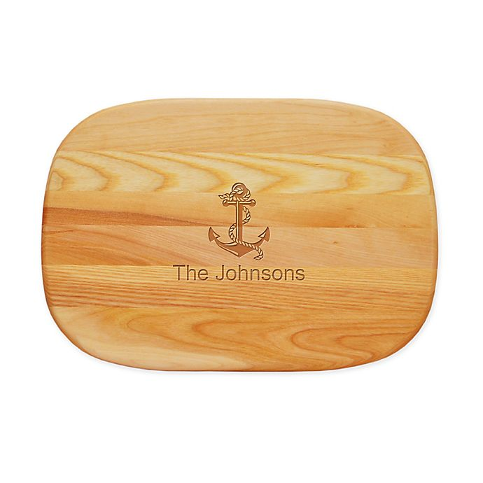 Alternate image 1 for Carved Solutions Anchor 15-Inch x 10-Inch Everyday Board