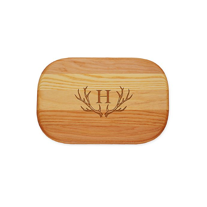 Alternate image 1 for Carved Solutions Antler 10-Inch x 7-Inch Everyday Board