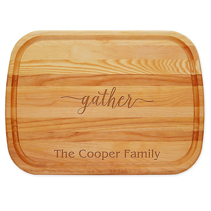 Alternate image 1 for Carved Solutions Gather 21-Inch x 15-Inch Everyday Board