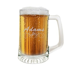 Carved Solutions Adams Clear Glass Sports Mug