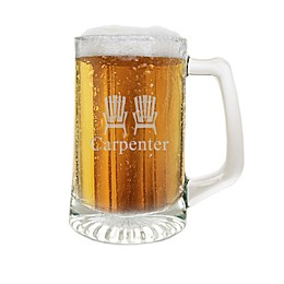 Carved Solutions Adirondack Chair Clear Glass Sports Mug