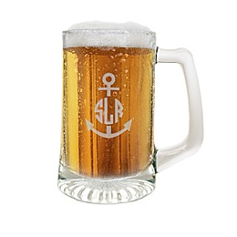 Carved Solutions Anchor Glass Sports Mug