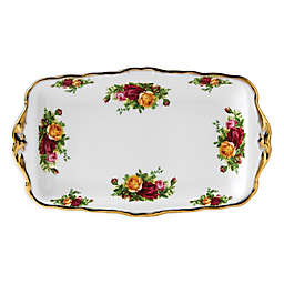 Royal Albert Old Country Roses 11.8-Inch Sandwich Tray