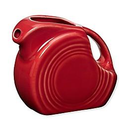Fiesta® Mini Disc Pitcher in Scarlet