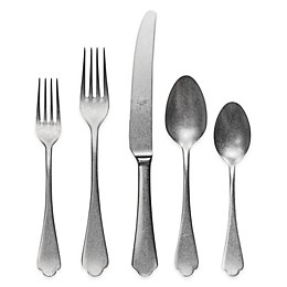 Mepra Dolce Vita Pewter 20-Piece Flatware Set