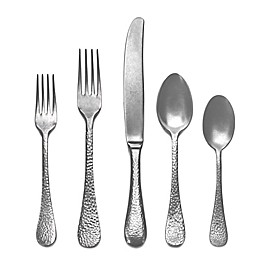 Mepra Epoque Pewter 5-Piece Flatware Place Setting