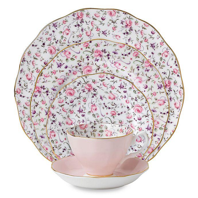 Alternate image 1 for Royal Albert Rose Confetti Dinnerware Collection