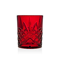 Godinger Dublin Red Double Old Fashioned Glasses (Set of 4)