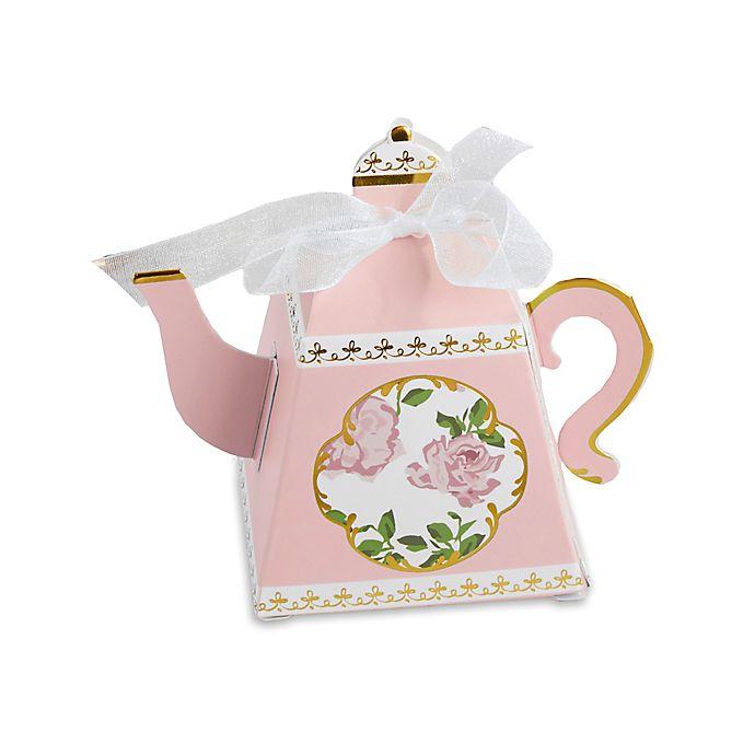 Alternate image 1 for Kate Aspen® 24-Pack Tea Time Teapot Favor Boxes