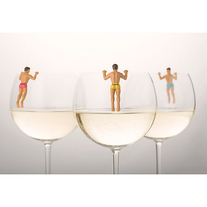 Alternate image 1 for NPW 6-Pack Drinking Buddies Drink Markers