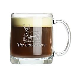 Carved Solution Deer 13 oz. Mug