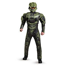 Halo: Master Chief Deluxe Muscle Halloween Costume