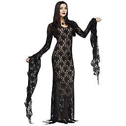 Lace Morticia Women's Halloween Costume