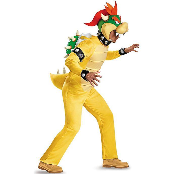 d6ab49de664e Super Mario Bros.™ Bowser Deluxe Adult Halloween Costume