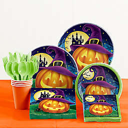 Creative Converting 81-Piece October Eve Halloween Tableware Kit