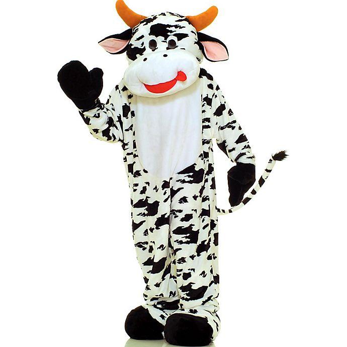 Alternate image 1 for Deluxe Cow Mascot Halloween Costume