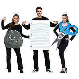 Rock Paper Scissor 3-Piece Halloween Costume
