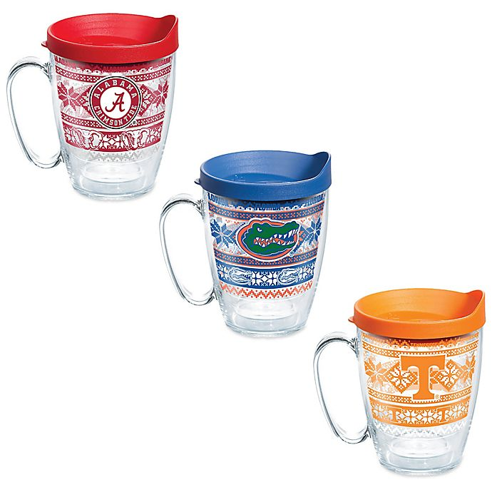 Alternate image 1 for Tervis® Collegiate Ugly Sweater 16 oz. Wrap Tumbler with Lid Collection