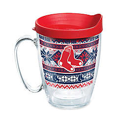 Tervis® MLB Boston Redsox Ugly Holiday Sweater 16 oz. Wrap Mug with Lid