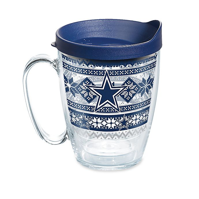 new style d0a1f bb639 Tervis® NFL Dallas Cowboys Ugly Holiday Sweater 16 oz. Mug ...