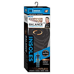 Copper Fit® BALANCE Performance Orthotic Insoles