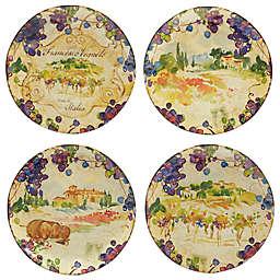 Certified International Vino Dinner Plates (Set of 4)