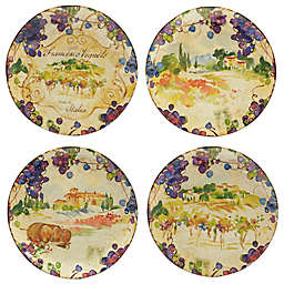 Certified International Vino Dinner Plates (Set of 4)