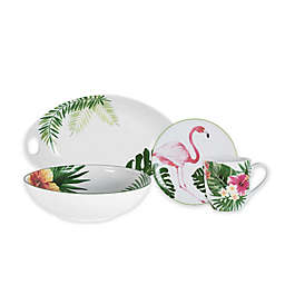 Everyday White® by Fitz and Floyd® Tropical Dinnerware Collection