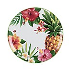 Everyday White® by Fitz and Floyd Tropical Accent Salad Bowl