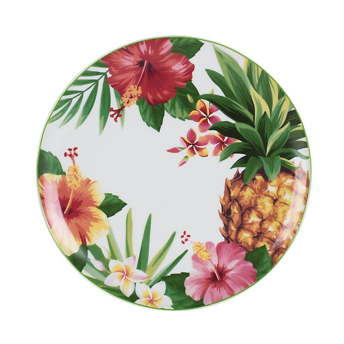 Alternate image 1 for Everyday White® by Fitz and Floyd® Tropical Salad Bowl